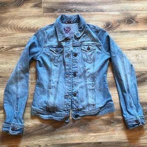 Hollister Denim Jacket L